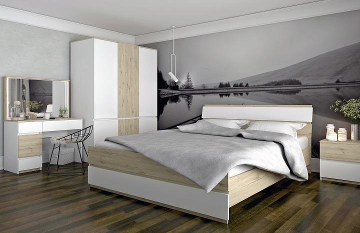 Spálňový nábytok Leira