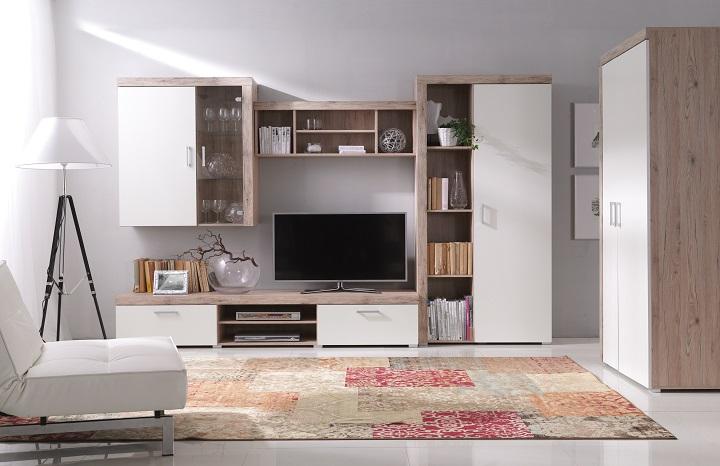 Nábytok do obývačky Cheris san marino/cream