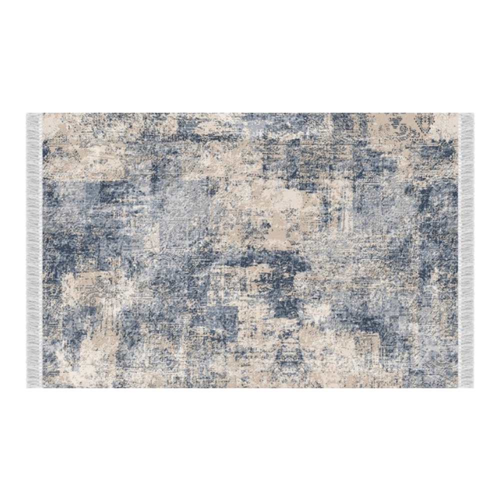 Covor, model/ albastru, 80x150, GAZAN