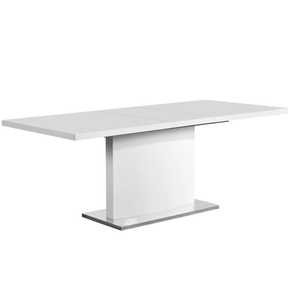 Masă de dining culoare albă HG, KORINTOS