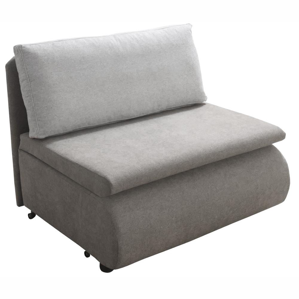 Kinyitható fotel, szürke-barna Taupe, KENET