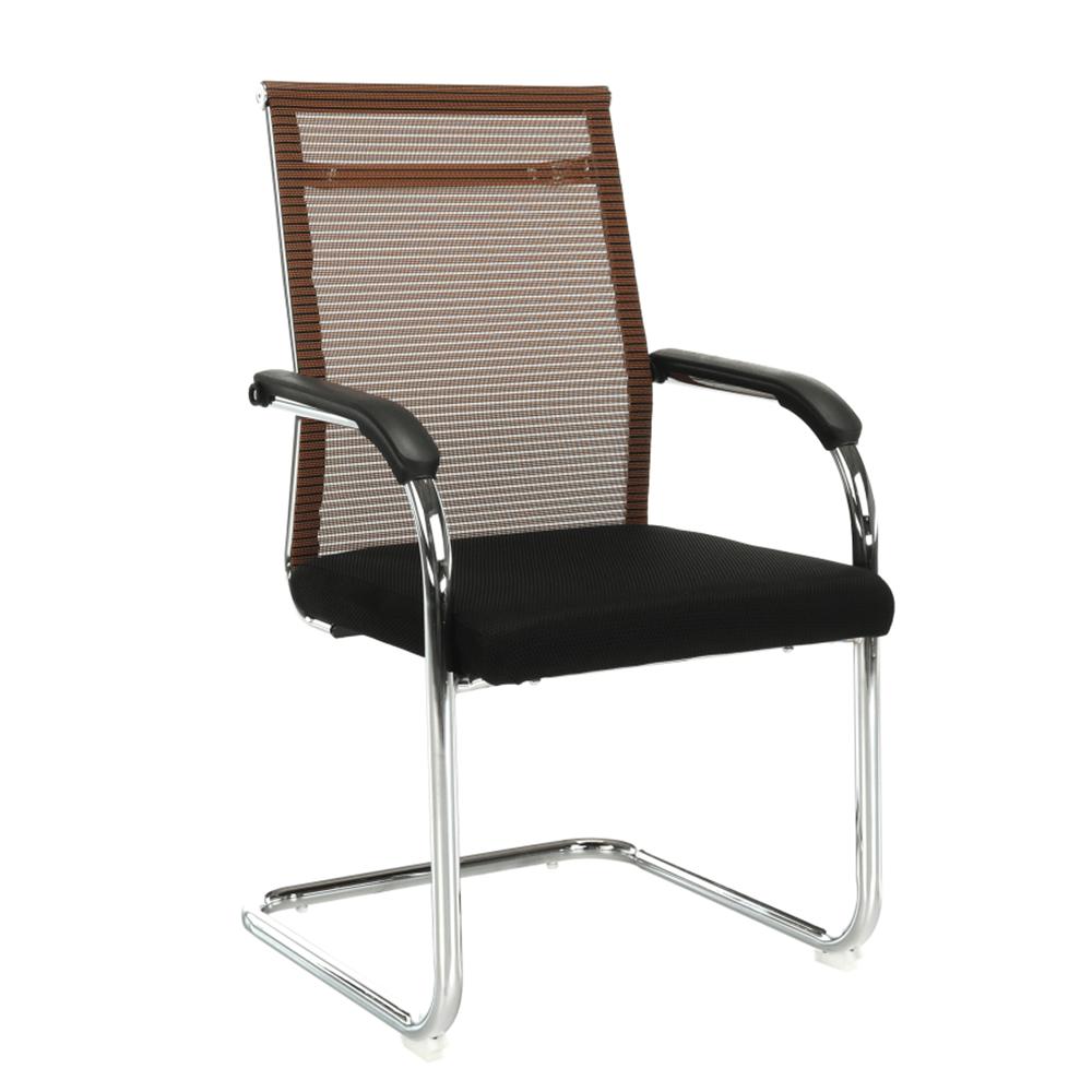 Scaun de şedinţă, maro/negru, ESIN