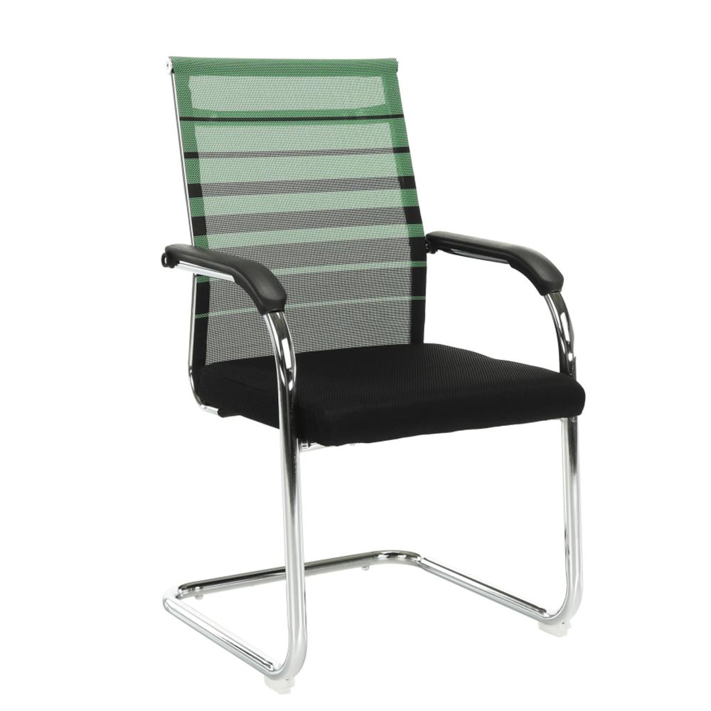 Scaun de şedinţă, verde/negru, ESIN