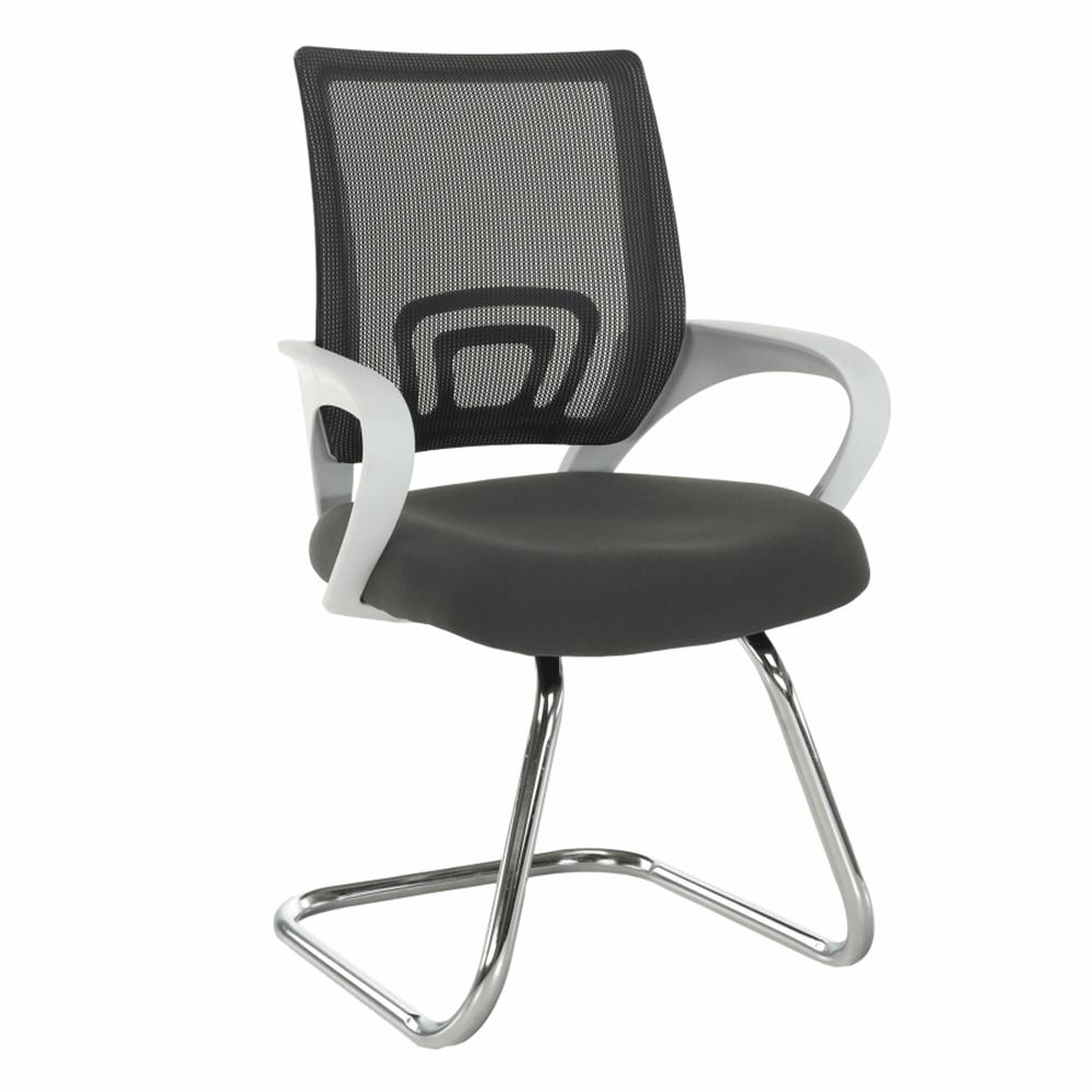 Scaun de şedinţă, gri/alb SANAZ TYP 3