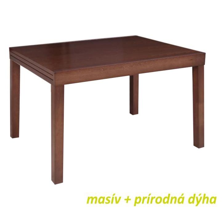 Jedálenský stôl, rozkladací, 120x90, orech, FARO