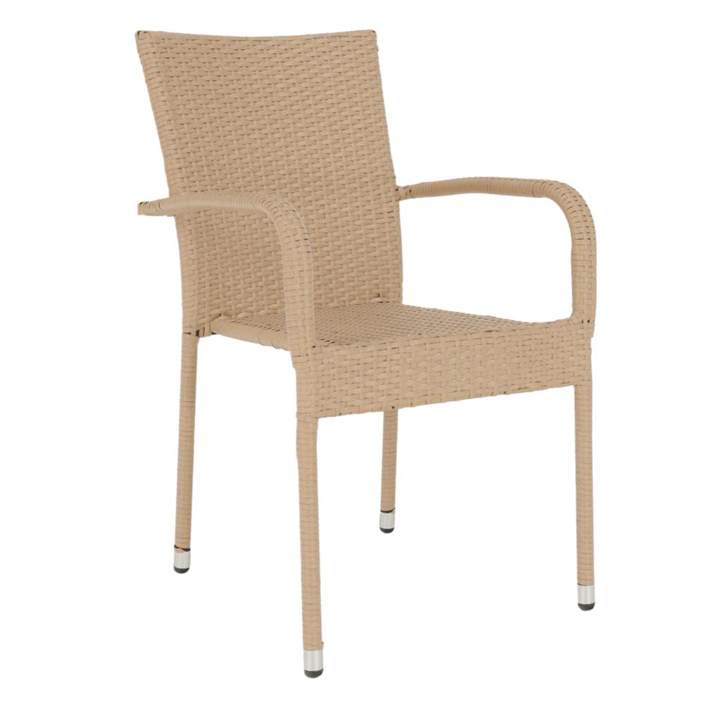 Kerti szék, világosbarna, VIPANA