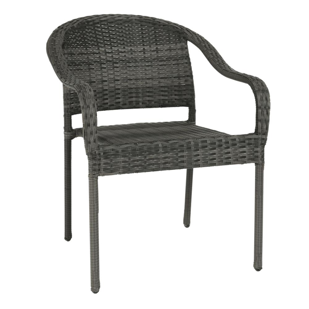 Kerti szék, szürke, BINGA