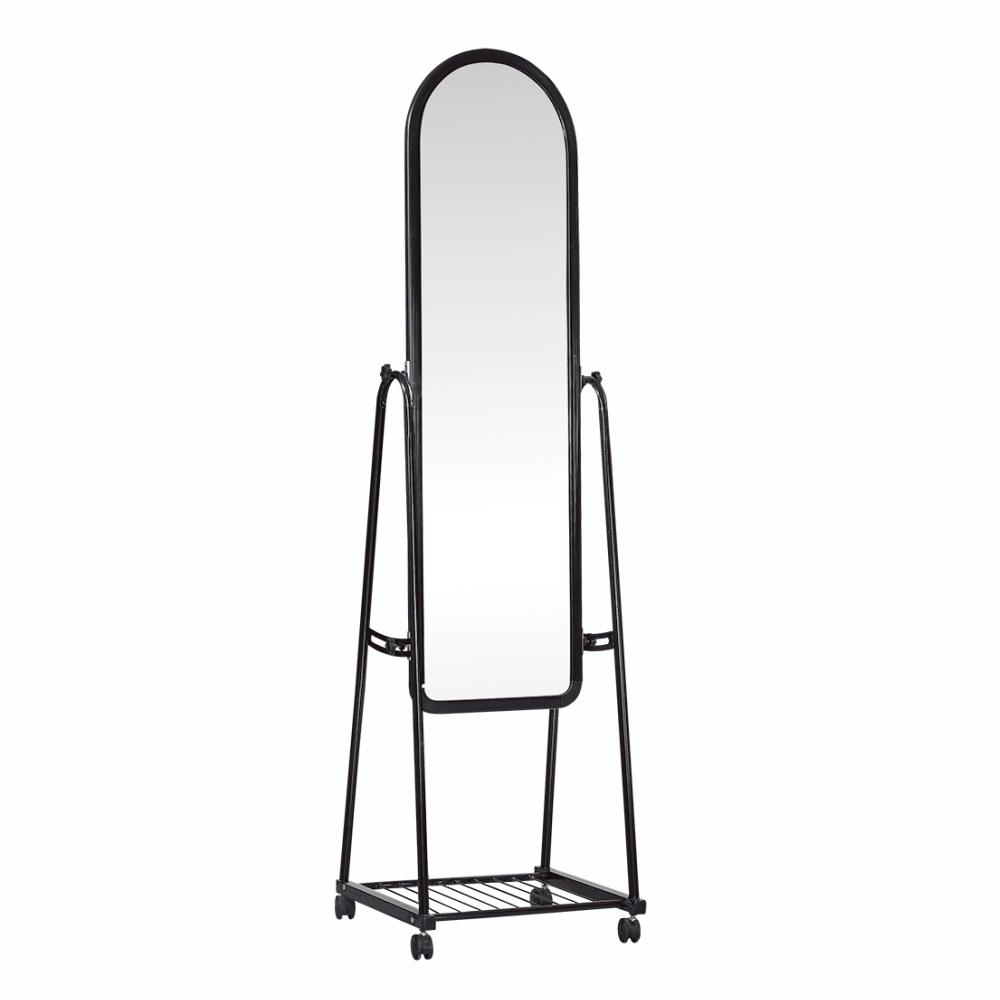 Oglindă cu roţi, negru, DUMAS