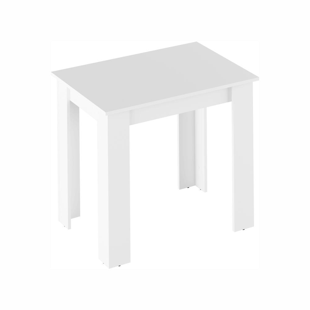 Étkezőasztal, fehér, 86x60 cm,  TARINIO