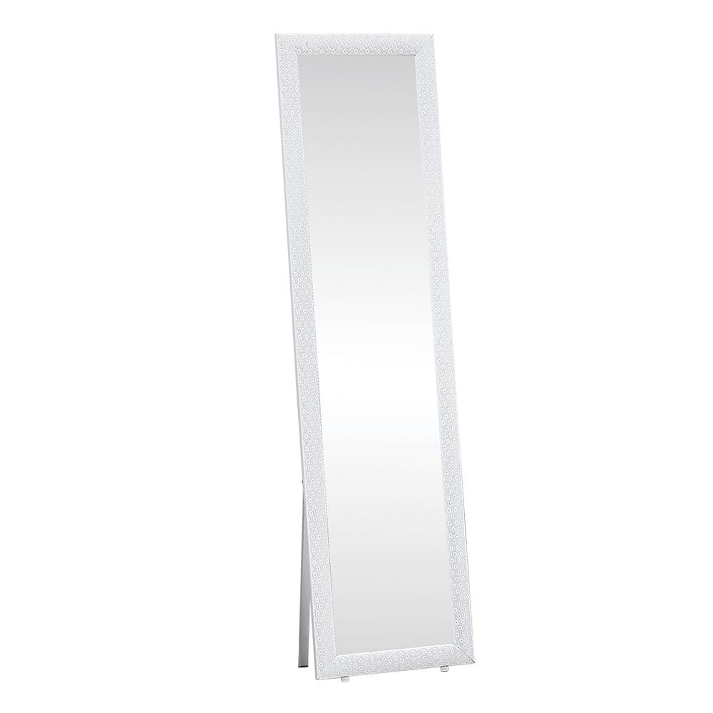 Oglindă de podea, alb, LAVAL