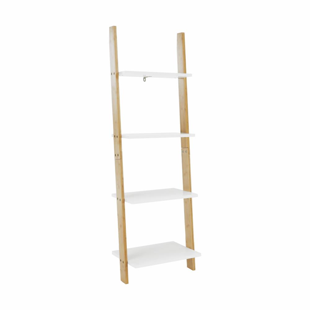 Polc, fehér/bambusz, GAPA TYP 2
