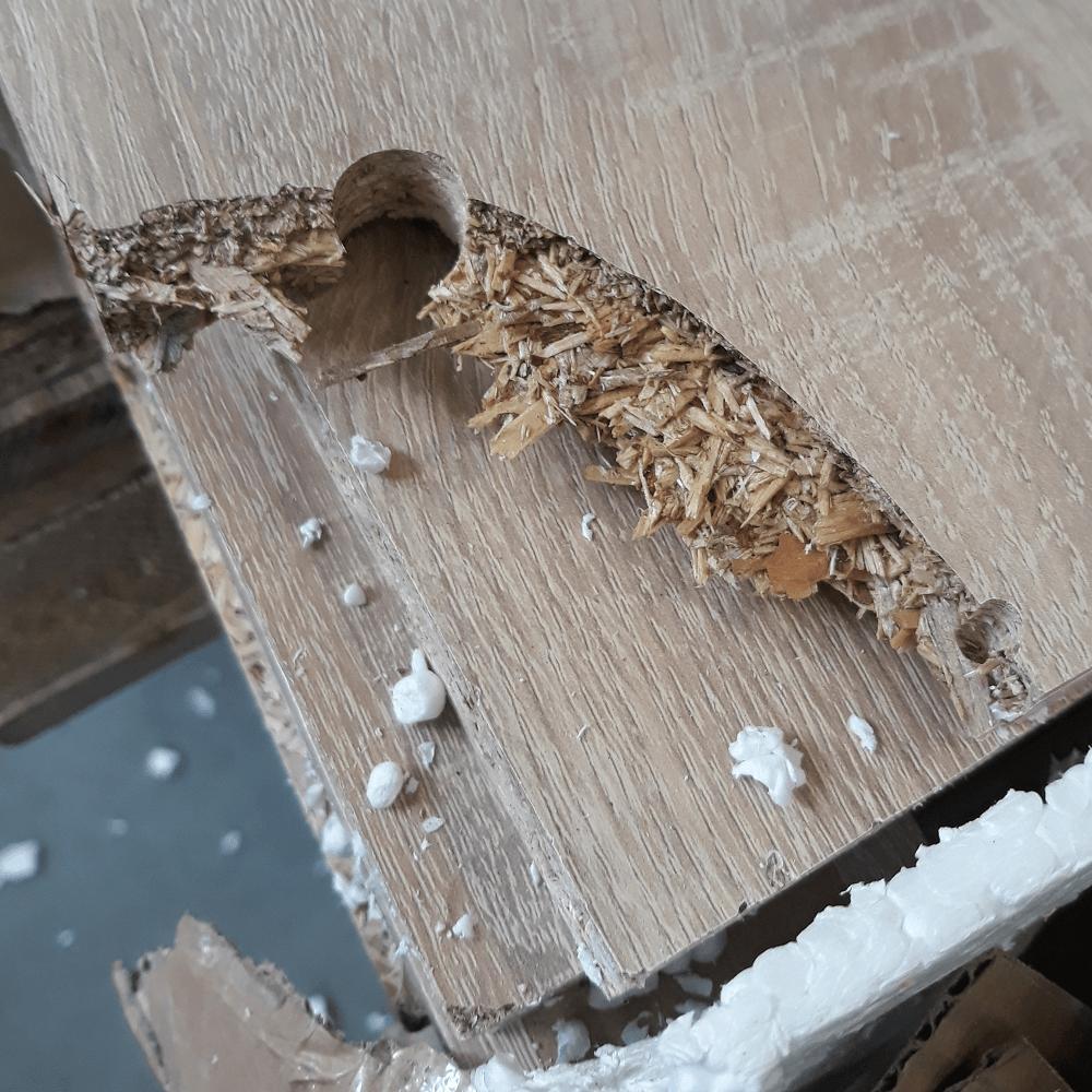 RTV stolík, dub sonoma, DAVIS TYP 05, poškodený tovar