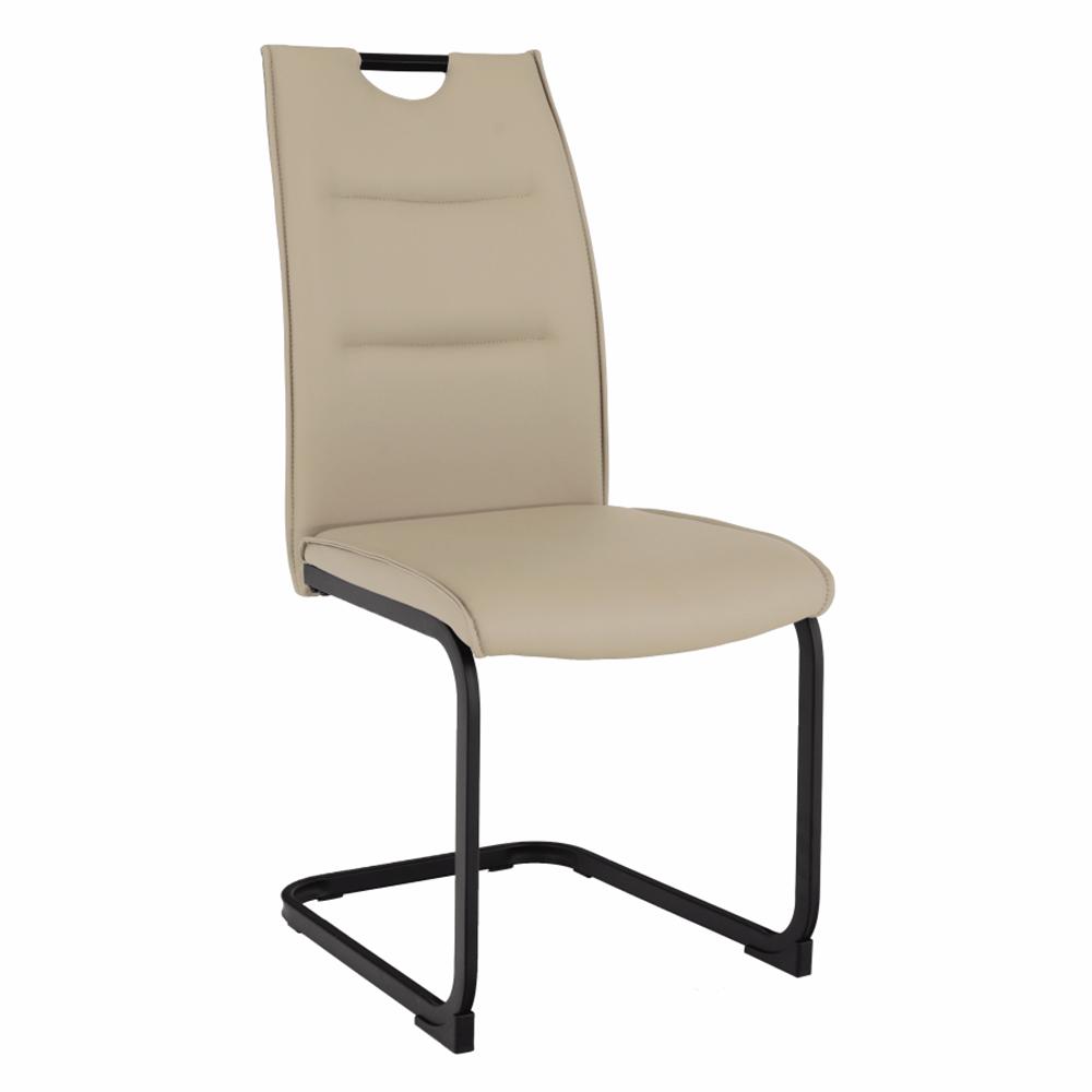 Étkező szék,világosbarna/fekete, MEKTONA