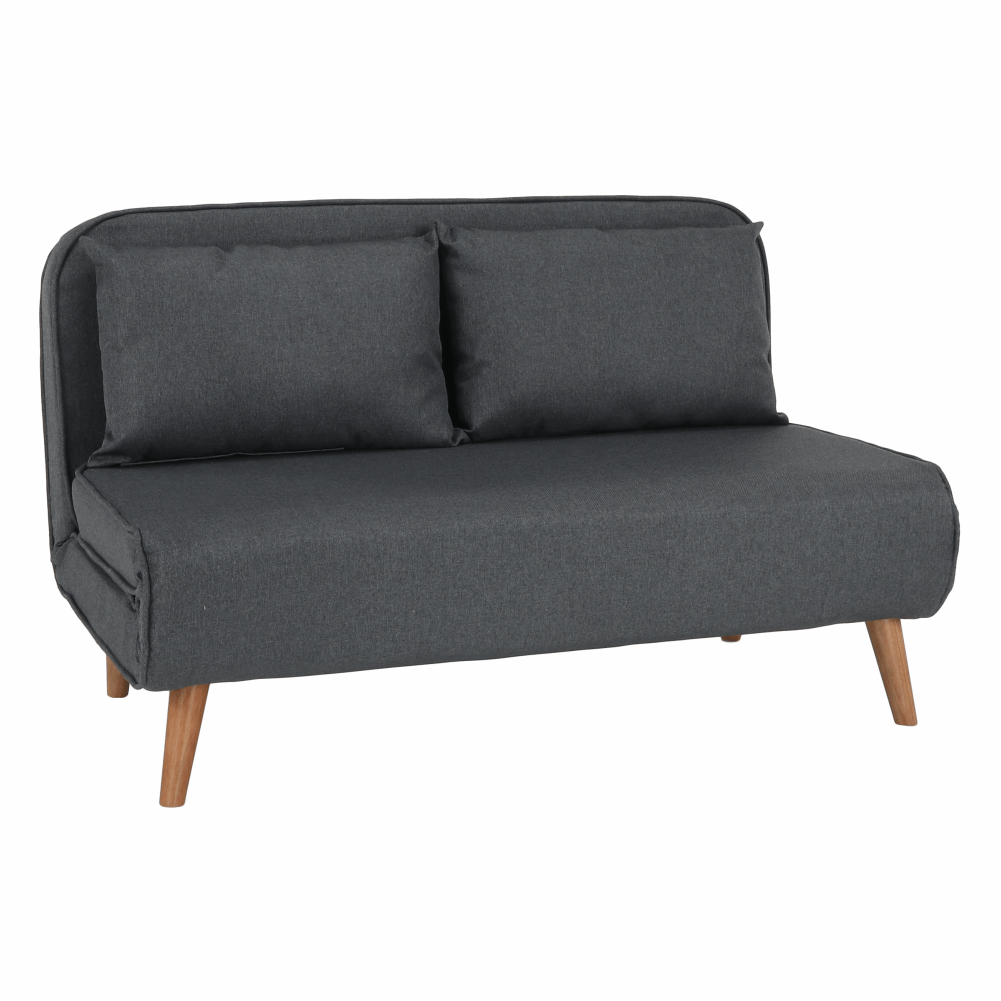 Canapea extensibilă, gri, IRIDA