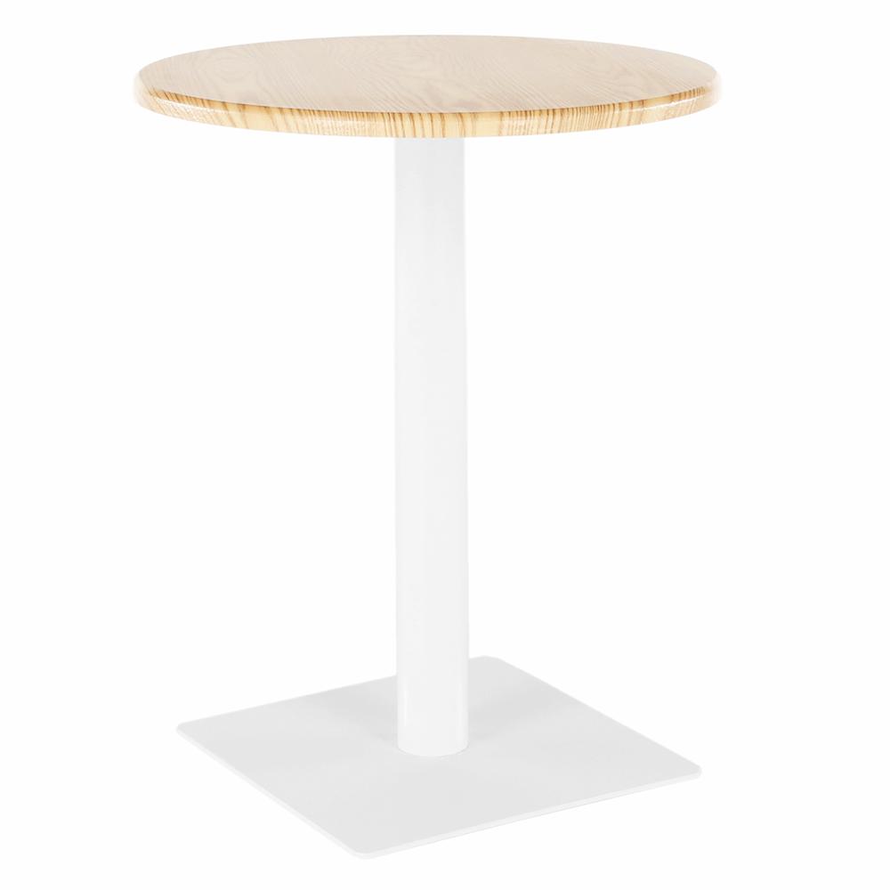 Étkezőasztal, natúr/fehér, TABIT