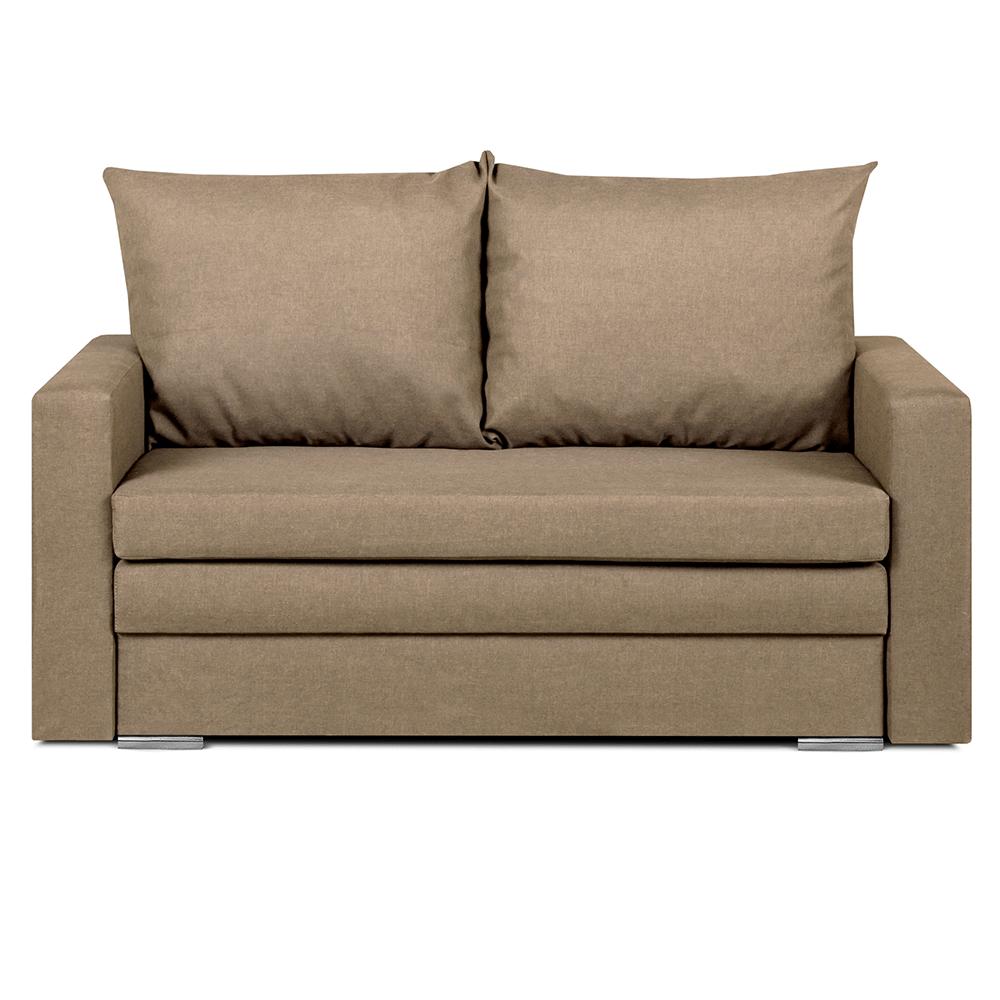 Canapea extensibilă, maro deschis, DOTY