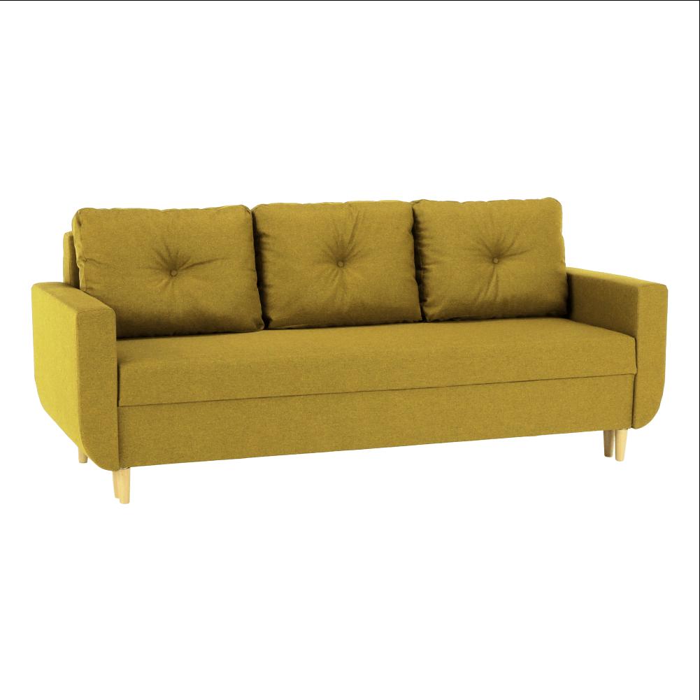 Canapea extensibilă, muştar, DOREL