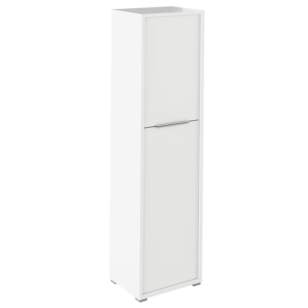 Polc szekrény, fehér, RIOMA TYP 08