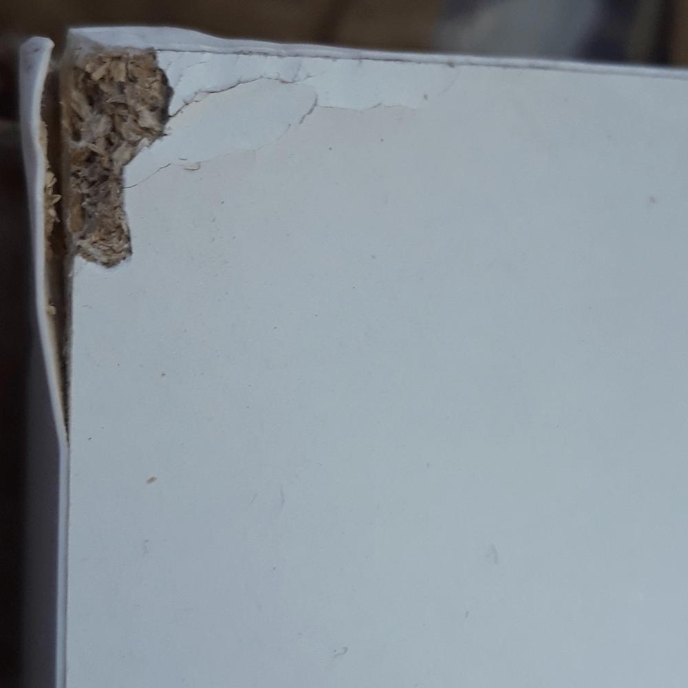 PC stôl, biela HG/dub sonoma tmavý truflový, LYNATET TYP 80, poškodený tovar