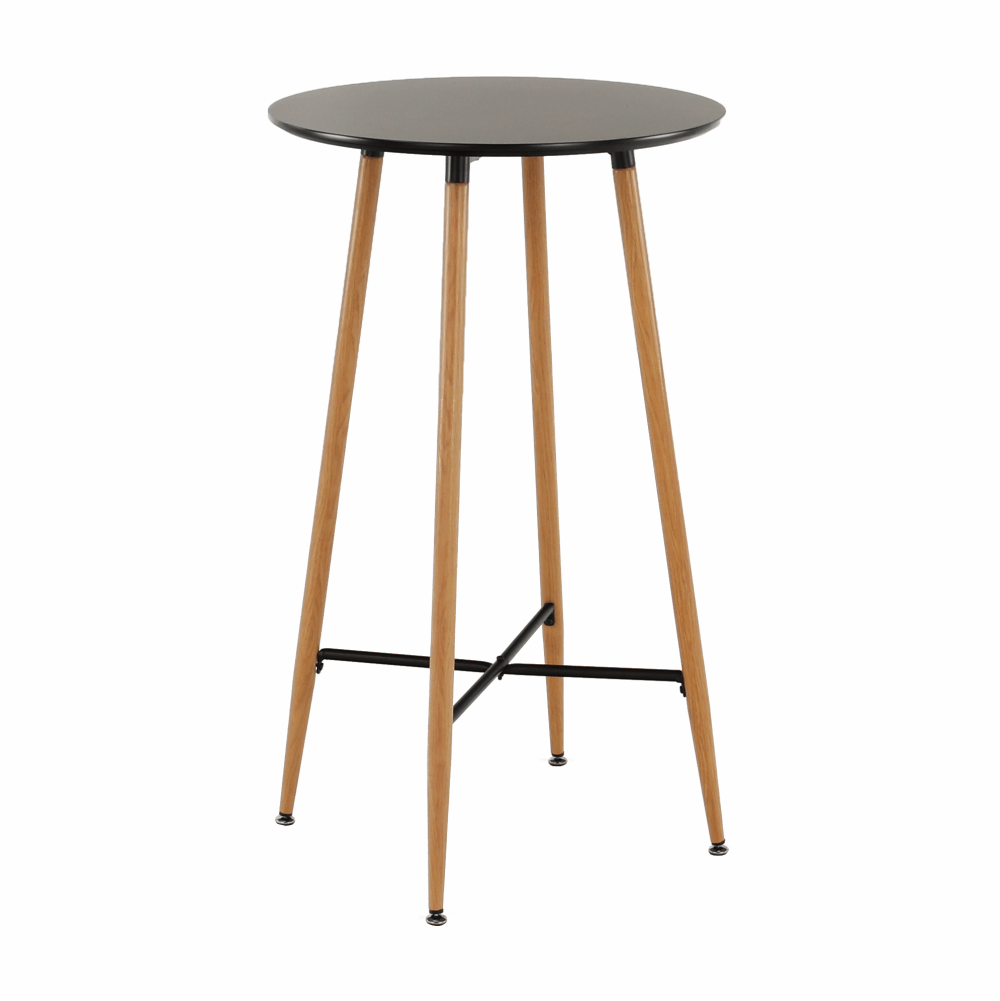Masă de bar, negru/stejar, IMAM