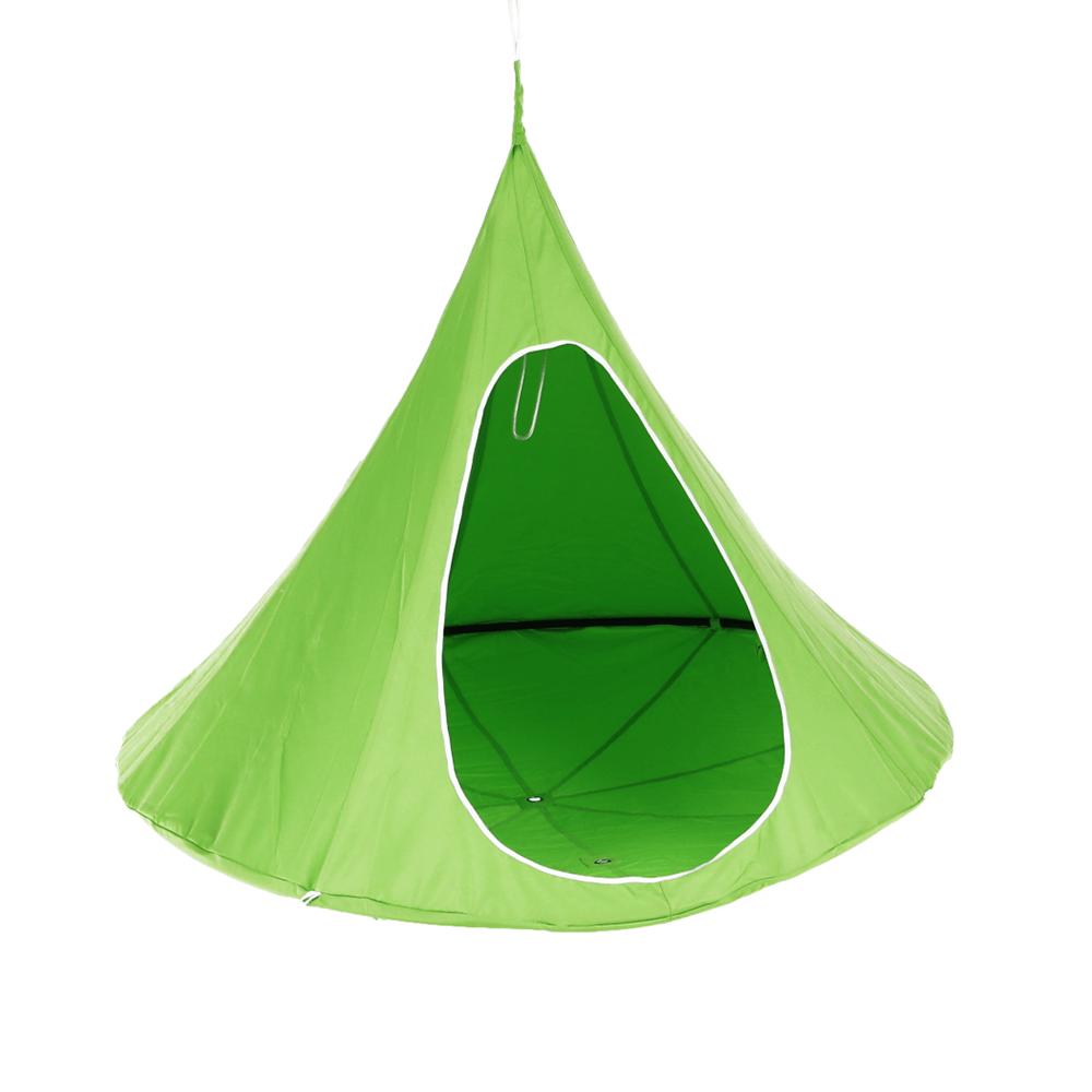Lógó hintaszék, zöld, KLORIN NEW KLASIK
