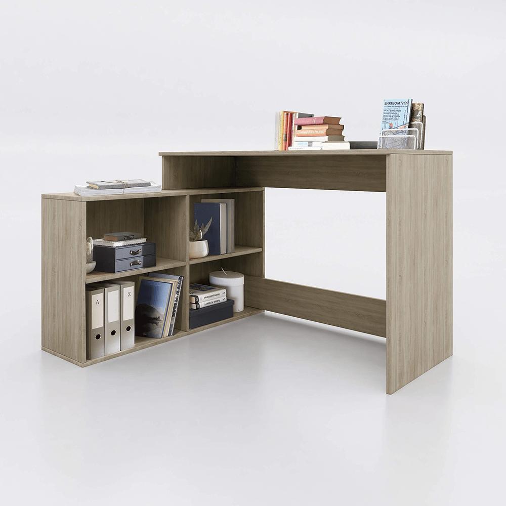 Univerzális számítógépasztal, sonoma tölgy, KORNER NEW