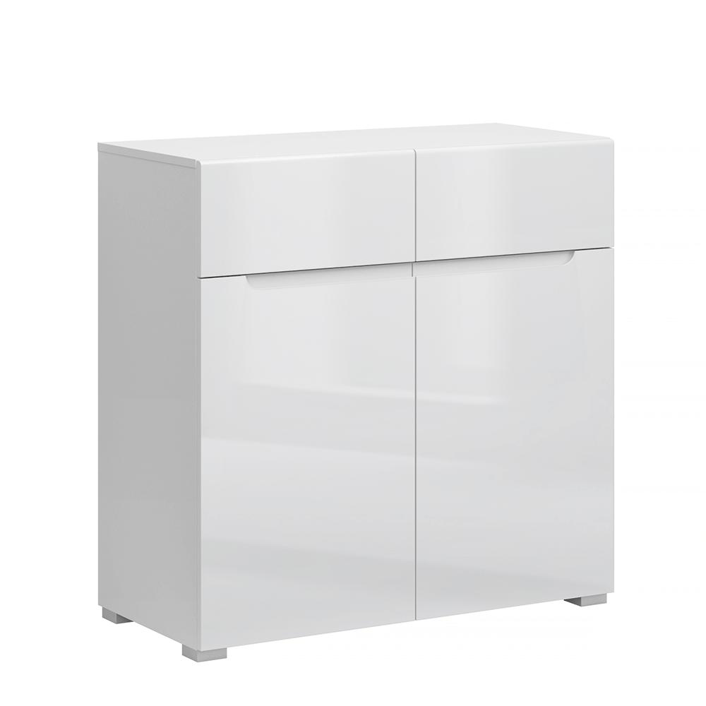 Scrin 2D2S, alb / alb cu luciu extra ridicat HG, JOLK