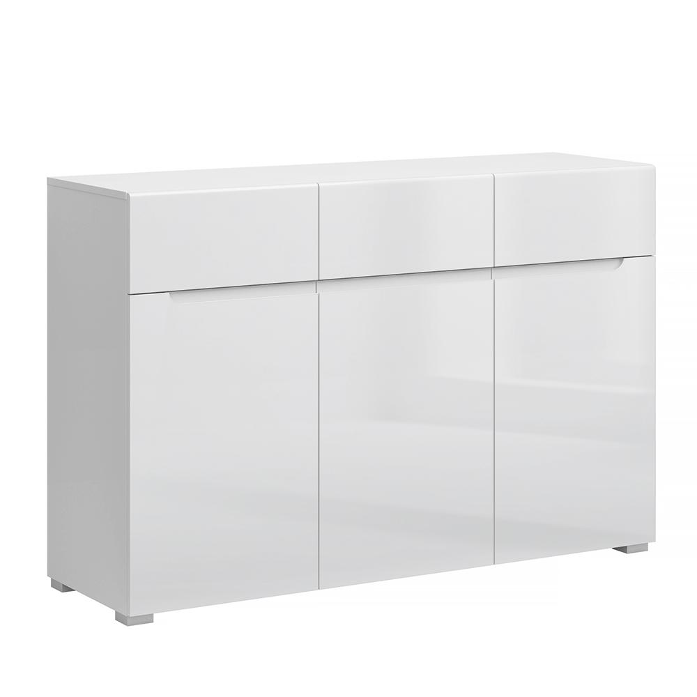 Scrin 3D3S, alb / alb cu luciu extra ridicat HG, JOLK