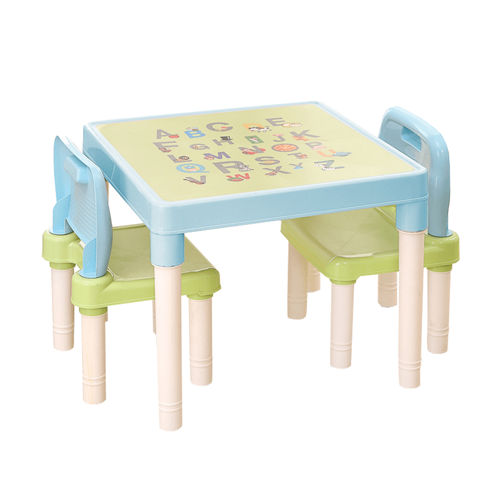 Set pentru copii 1 + 2, albastru / verde / alb, BALTO