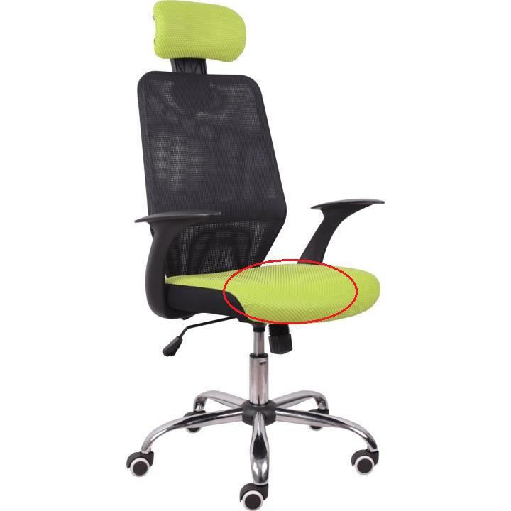 Kancelárske kreslo, zelená/čierna, REYES NEW, poškodený tovar