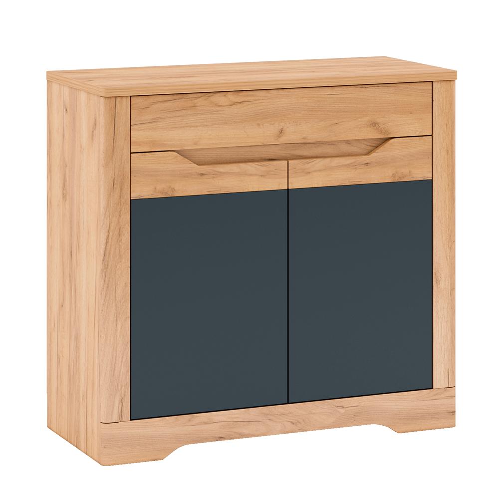 Scrin G, stejar craft artizanal / gri grafit, FIDEL