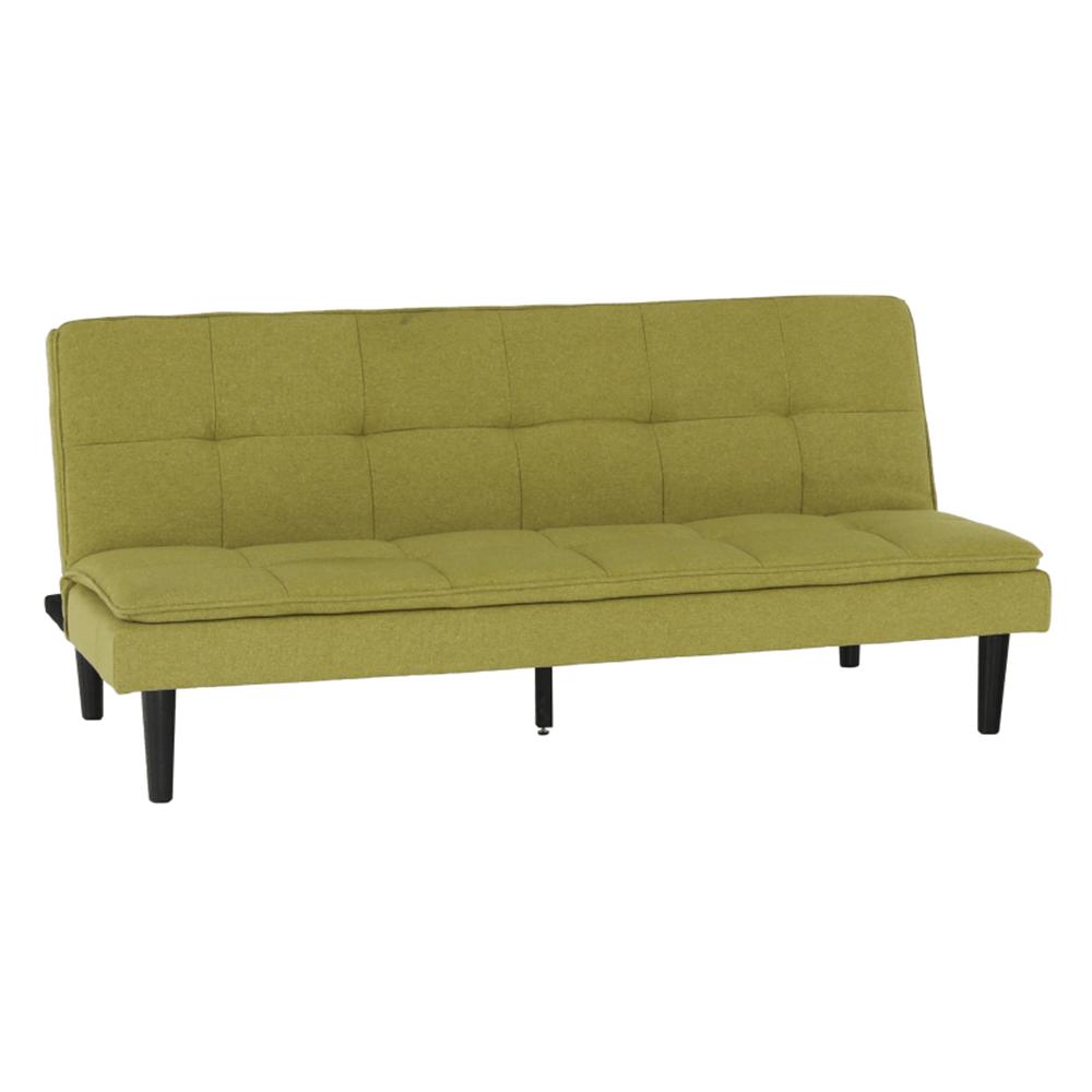 Canapea extensibilă, verde, LARAMA