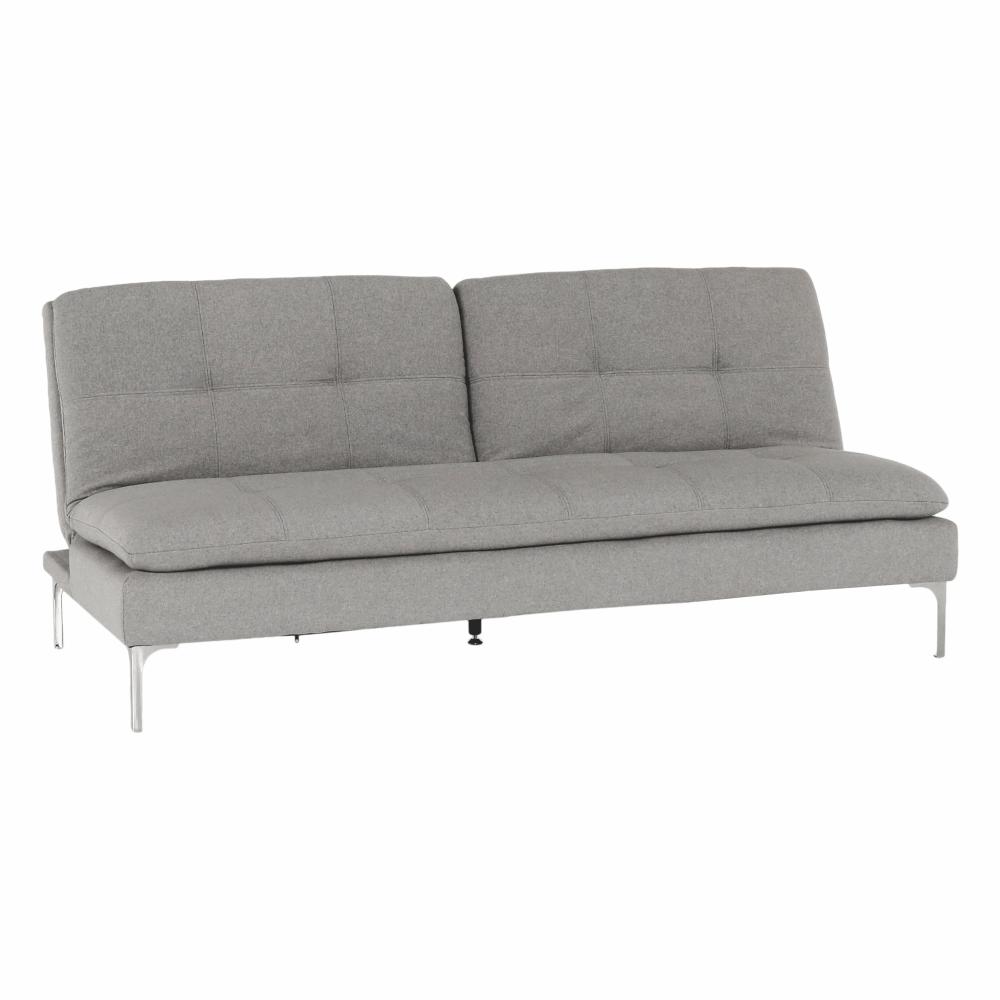 Canapea extensibilă, gri deschis, HERMA