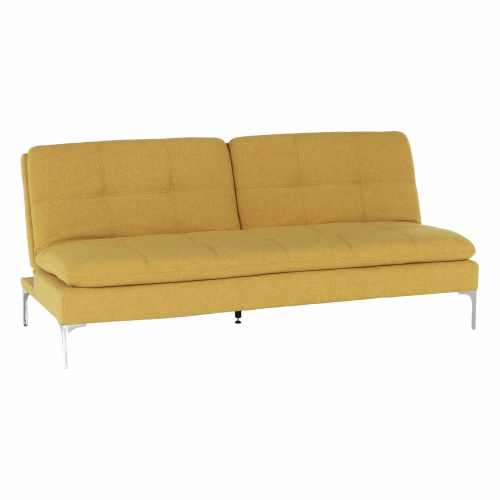 Canapea extensibilă, muştar, KENZA