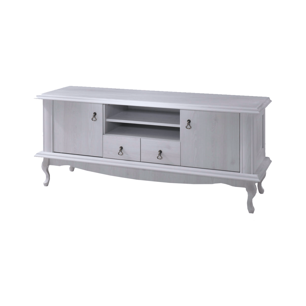 TV asztal DA14, sosna fehér, VILAR