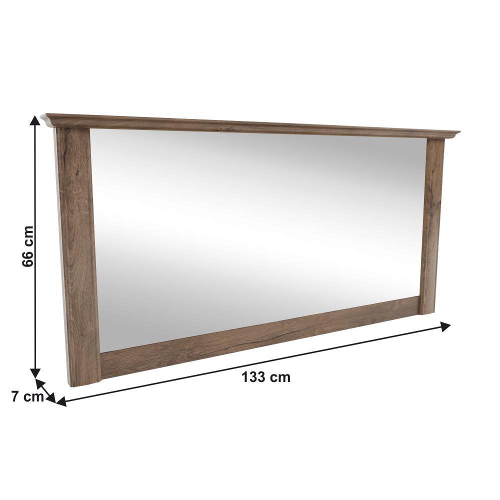 Zrkadlo DA22, dub lefkas, VILAR