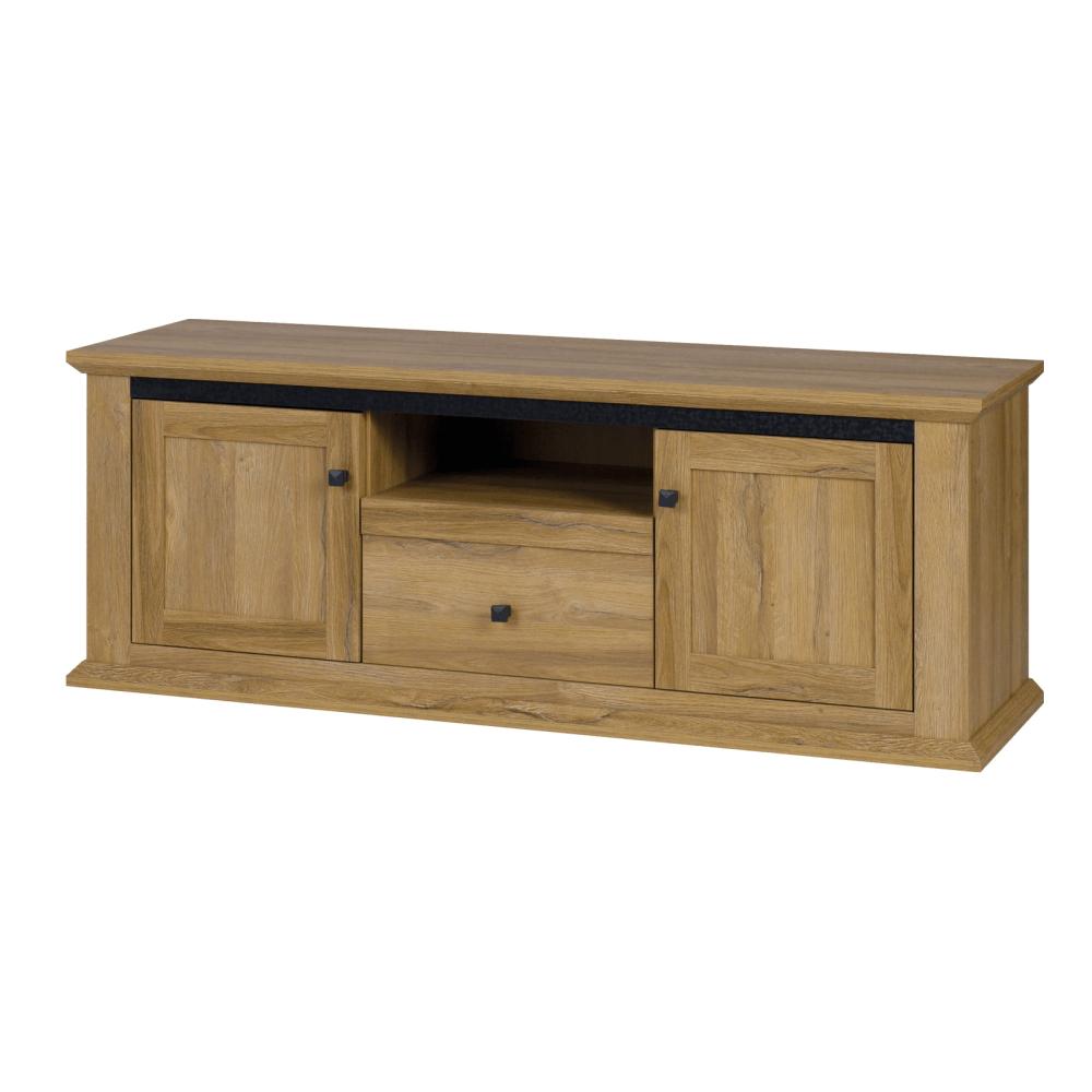 TV asztal MZ15, grand tölgy, LEON