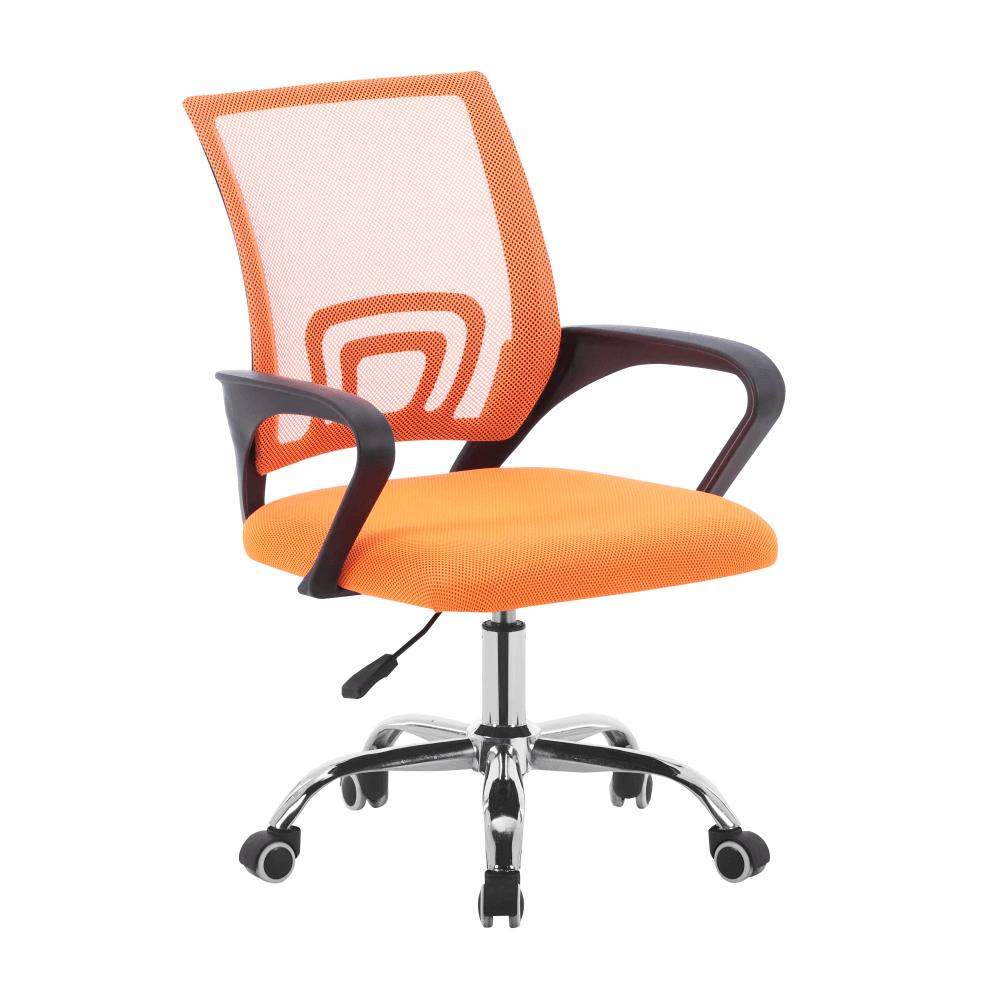 Irodai szék, narancssárga/fekete, DEX 2 NEW