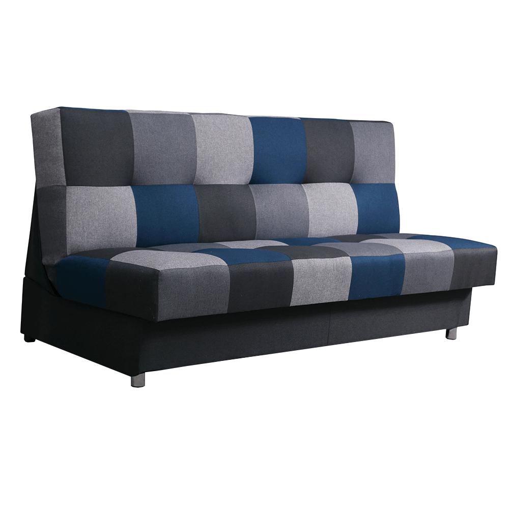 Canapea, albastru, ţesătură malmo, ALABAMA