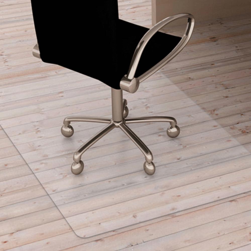 Védőalátét a szék alá, átlátszó, 140x100 cm, 0, 5 mm, ELLIE