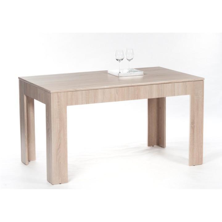 Jedálenský stôl, rozkladací, dub sonoma, 140/180x80 cm, ADMIRAL