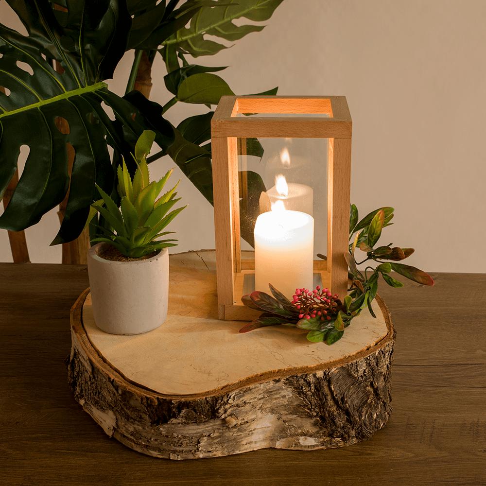 Felinar lumânare, stejar, EMET TYP 1
