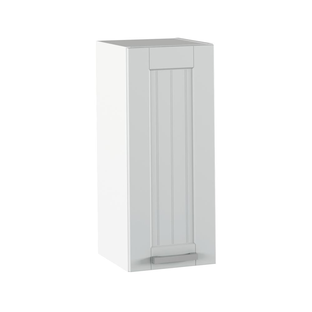 Felső szekrény, világosszürke/fehér, JULIA TYP 2