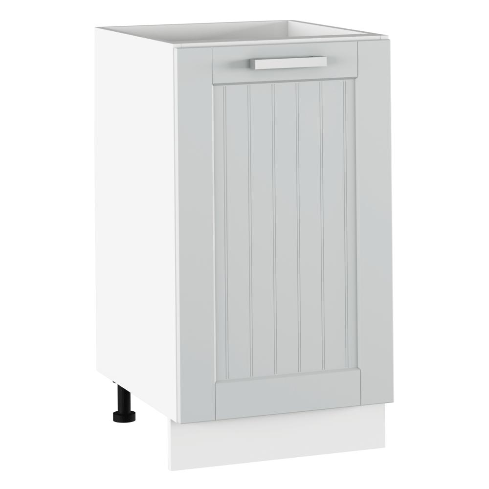 Alsó szekrény, világosszürke/fehér, JULIA TYP 54