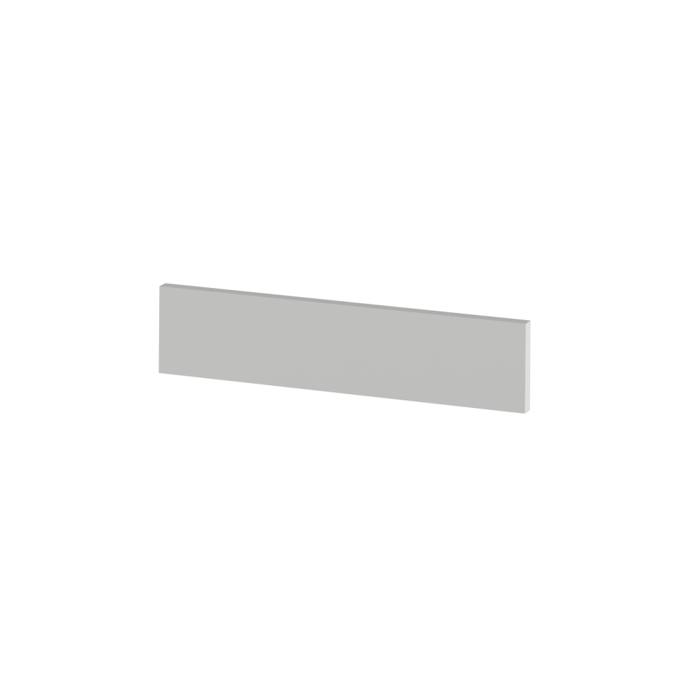 Capăt plintă laterală pentru dulapuri joase, alb, JULIA TYP 91