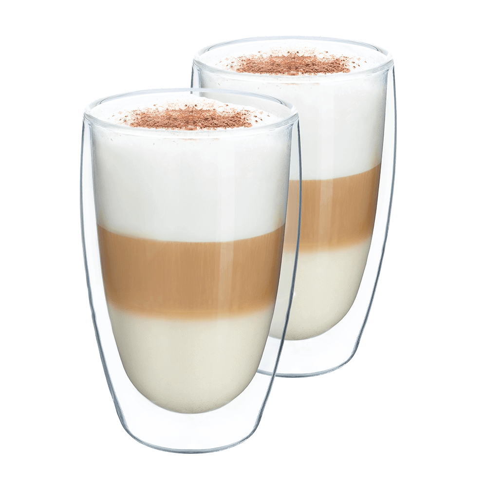 Thermo latte pohár, 2db, 450ml, HOTCOOL TYP 2