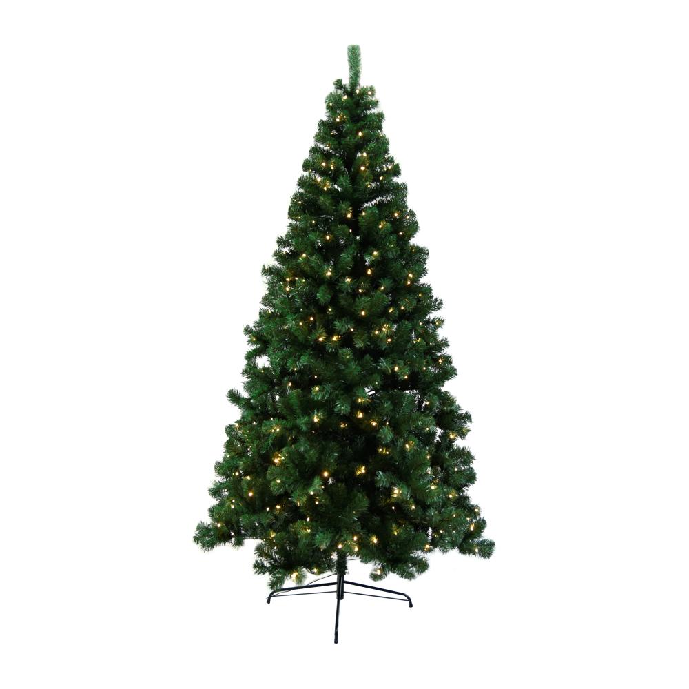 Brad 3d cu lumini, verde, 220cm, LED450, CHRISTMAS 5