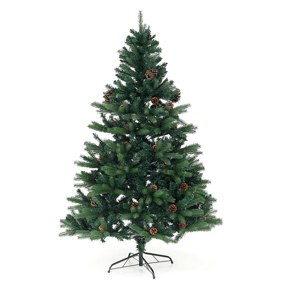 Brad de Crăciun 3D cu conuri, verde, 180 cm, CHRISTMAS TYP 7
