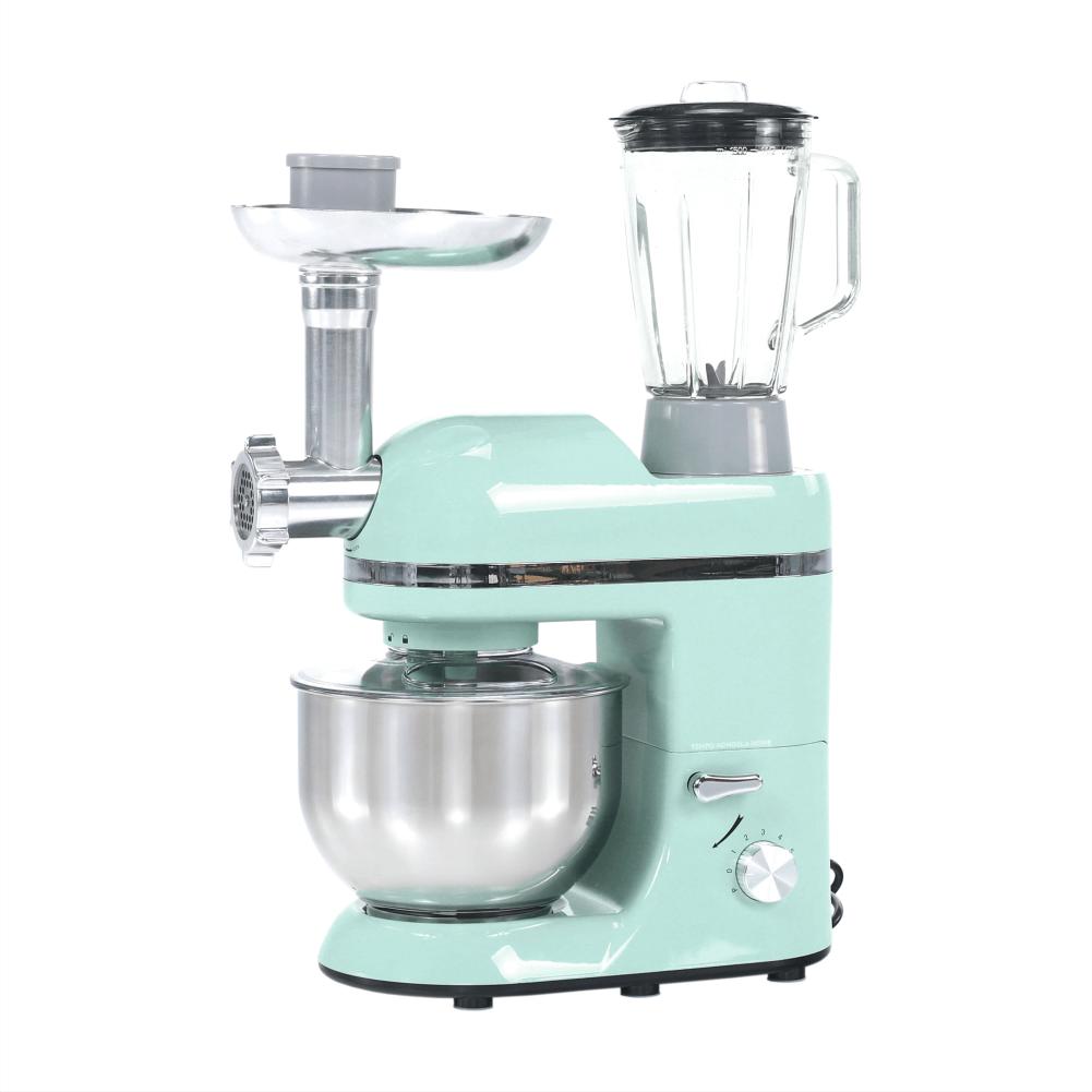 Robot de bucătărie, 1800 W, 5 l, neo mentă/crom, KANTE