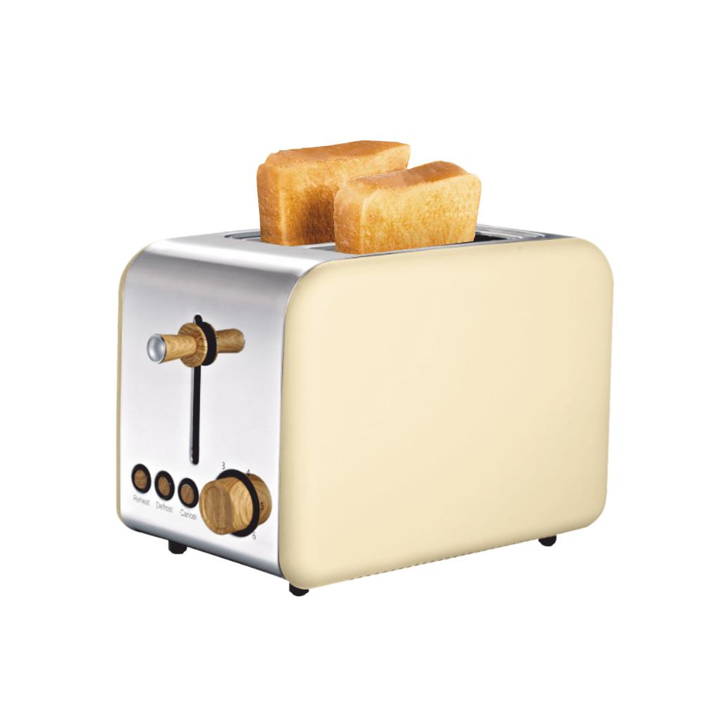 Prăjitor de pâine, model lemn bej , DUSTIN